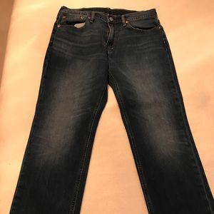 Men's Levi's faded wash 541 athletic fit jeans